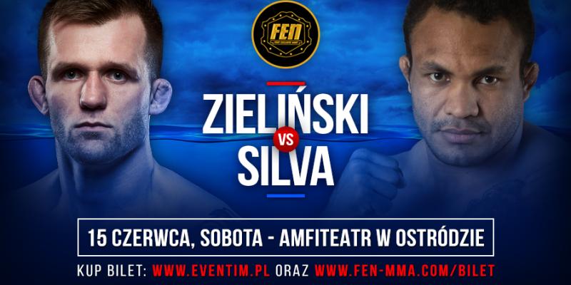 Adrian Zieliński vs Silva