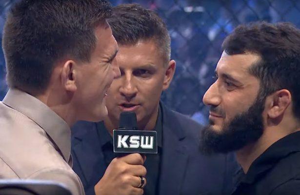 Khalidov vs Askham face to face