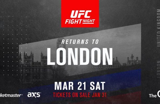 UFC ponownie w Londynie